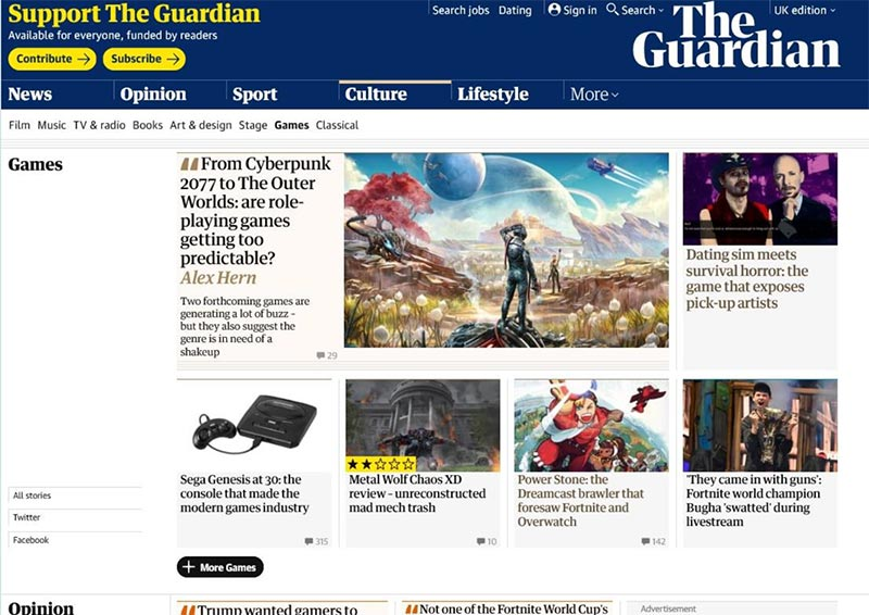 Guardian Coverage